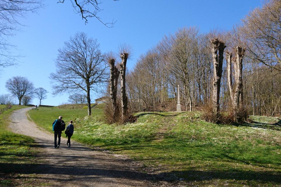 памятник Т. Регенбург (Th. Regenburg), Скамлингсбанкен (Skamlingsbanken)
