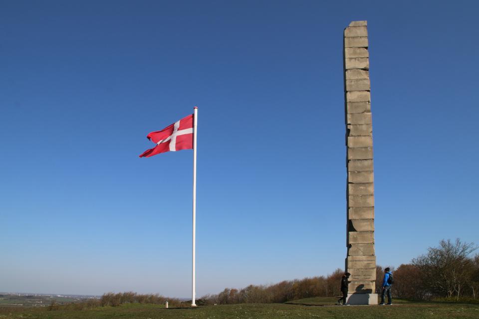 Обелиск Скамлингсбанкенстёттен (Skamlingsbankestøtten).