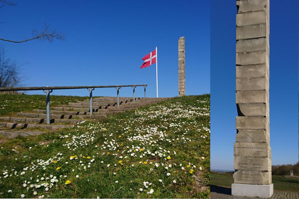 Обелиск Скамлингсбанкенстёттен (Skamlingsbankestøtten), Дания