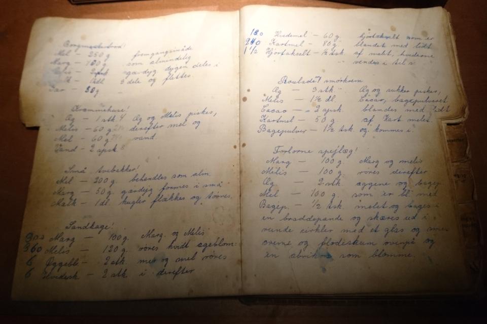 Эльзе из Дании - старая поваренная книга с рецептами