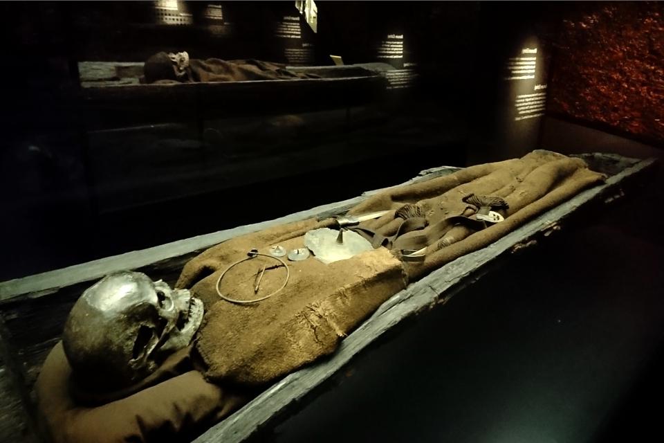 Тело женщины из кургана Борум Эсхой / Borum Eshøj