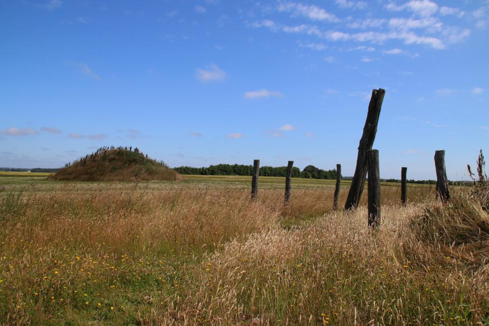 Место, где раньше располагался один из домов бронзового века
