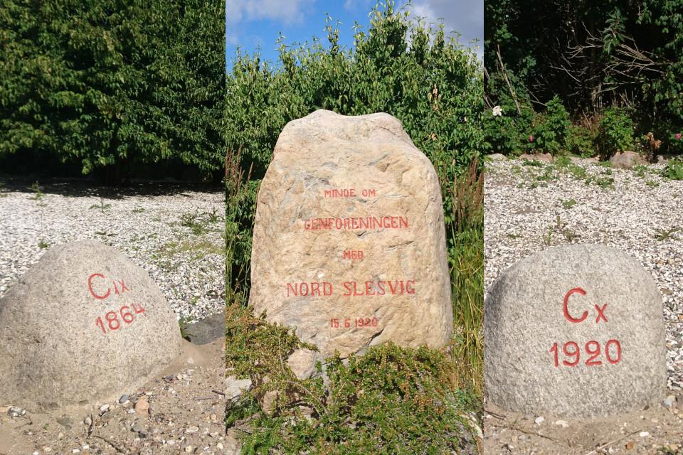 Камень воссоединения г. Гйесинг / Gjesing, Дания