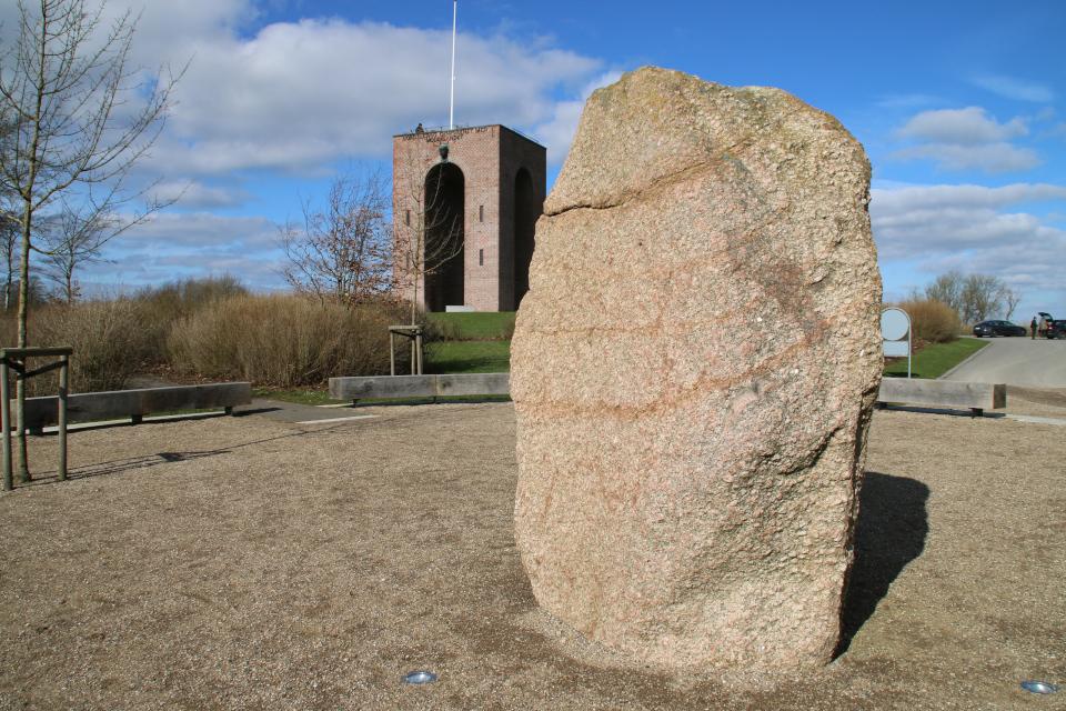 Камень воссоединения Айер-Бавнехой / Ejer Bavnehøj, Дания
