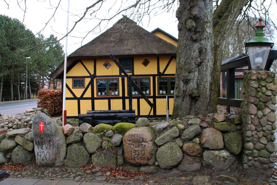 Камни воссоединения возле постоялого двора Видстен (Hidsten kro). Спентруп