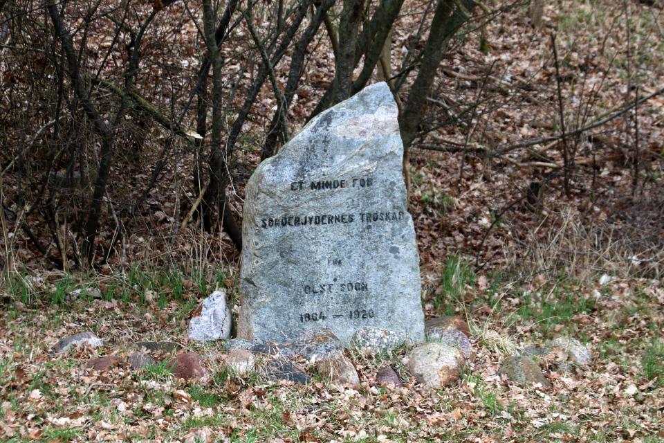 Камень воссоединения. Фото 28 мар. 2021, Ольст / Ølst, Дания
