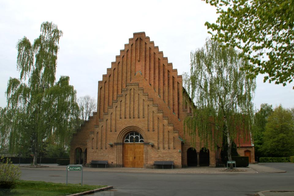 Большая церковь с часовней на кладбище Вестре Киркегорд, (Vestre Kirkegaard)