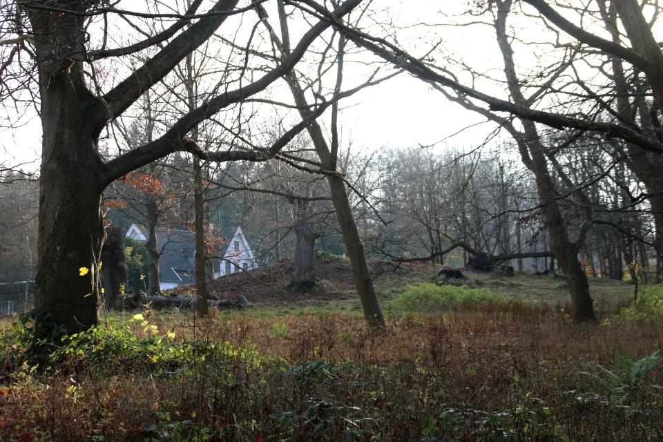 Сохранившийся курган, г. Орхус, Дания