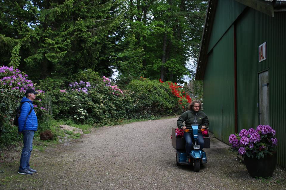 Хозяйка питомника и парка рододендронов Хелле Йоргенсен, Дания