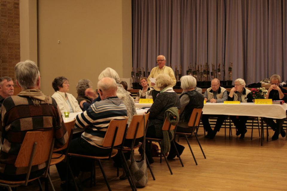 Собрание ассоциация садоводов-любителей (Jens Kjøge), бывшая школа Skt. Anna Gades Skole, Орхус, Дания. Фото 20 фев. 2013