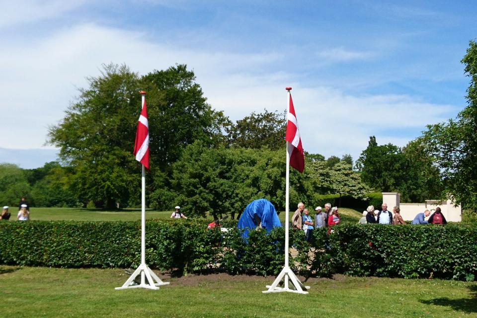 Камень воссоединения до официального открытия, г. Орхус / Aarhus, Дания