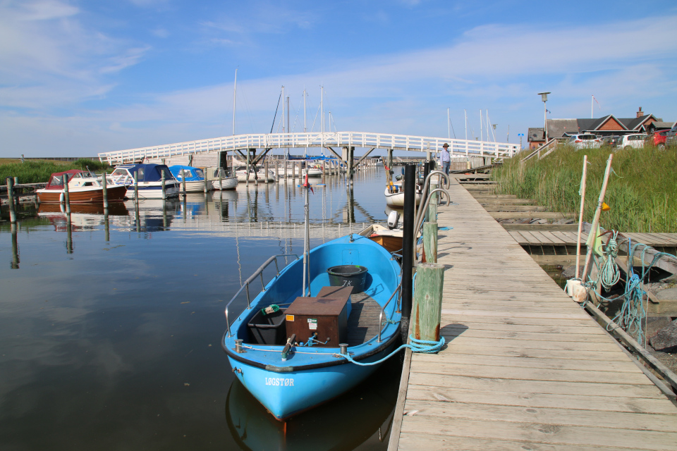 Деревянный мост через канал Фредерика 7, Дания