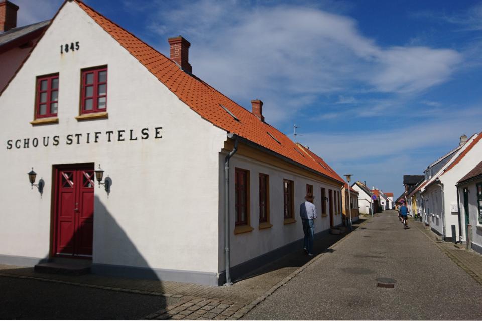 Огранизация Шоус (Schous Stiftelse). Фото 3 июн. 2020. г. Лёгстёр / Løgstør, Дания