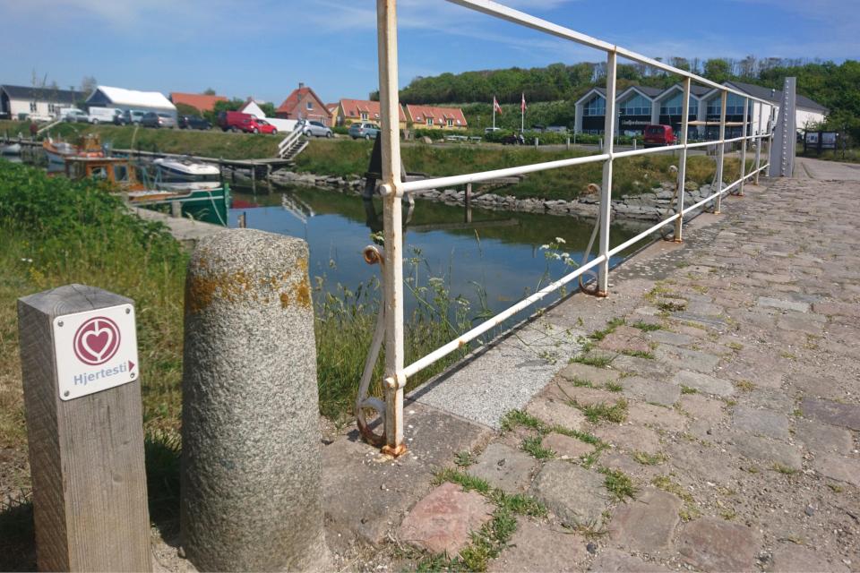Дорожка, рекомендуемая для прогулок Кардиологической Ассоциации Дании