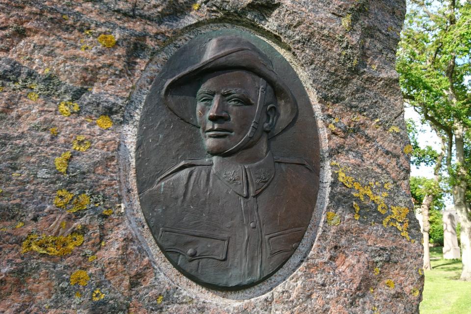 Памятный камень Jørgen Christian Jensen, г. Лёгстёр / Løgstør, Дания