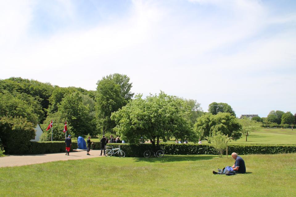 Мемориальный парк в Орхусе / Aarhus, Дания