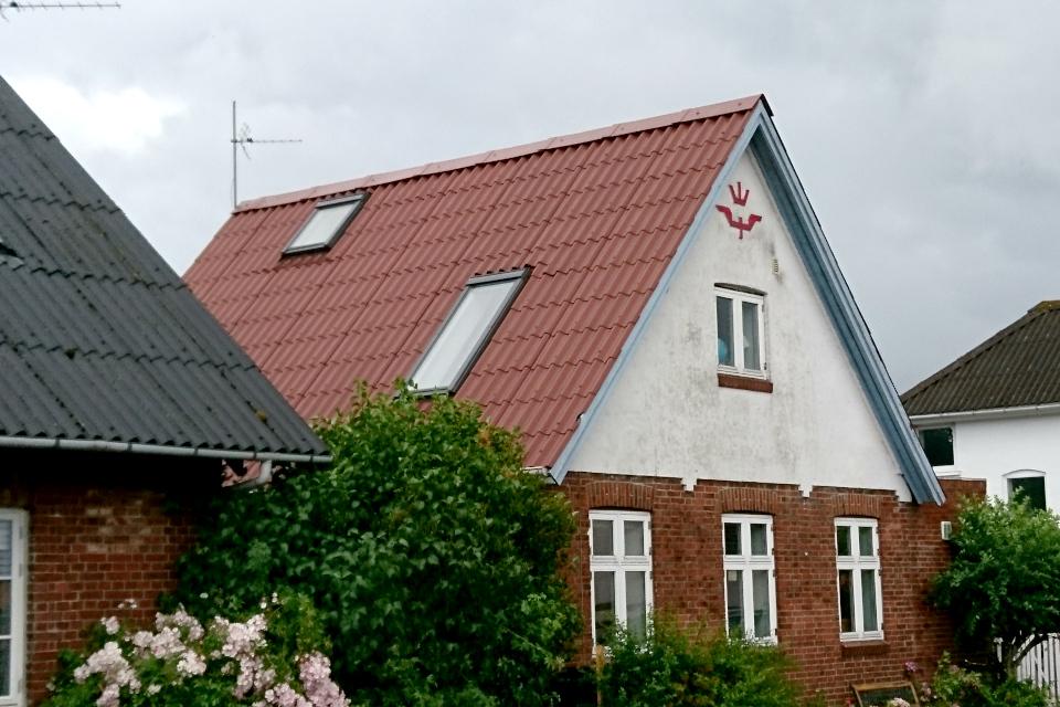 Дом бывшего хозяина магазина (købmanden baneformand)