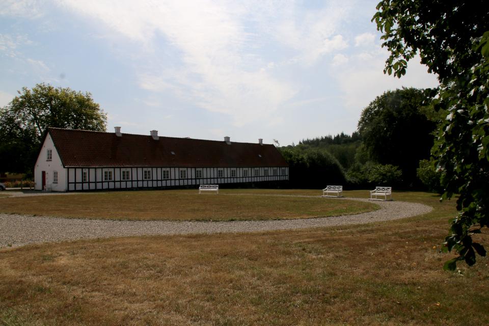 Дом в стиле фахверк возле замка Фуссингё