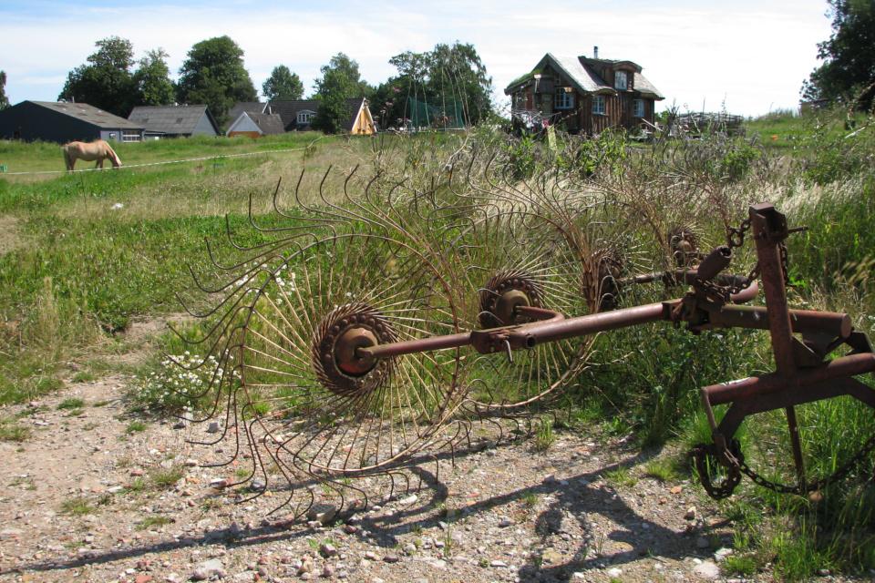 Старые сельскохозяйственные машины