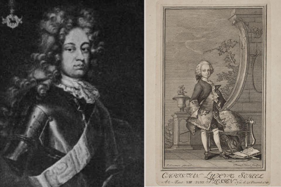 Кристиан Людвиг Шеель фон Плессен (Christian Ludvig Scheel von Plessen)