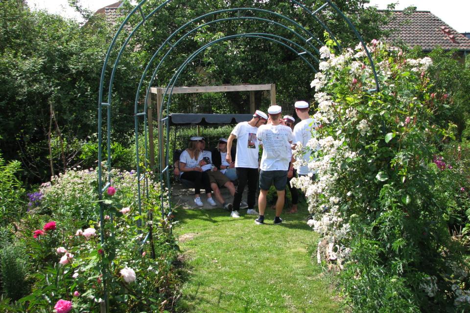 Хюгге в саду. Фото 28 июн. 2012, мой сад, г. Хойбьерг / Højbjerg, Дания