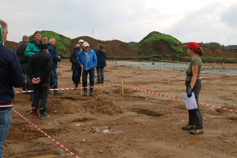 Открытая археология в Граубалле - археолог отвечает на вопросы посетителей