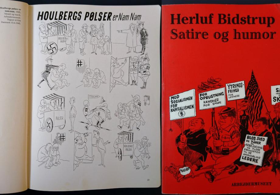 """Херлуф Бидструп: сатира и юмор"" (Herluf Bidstrup : satire og humor, 2004)"