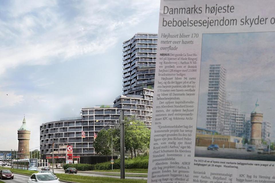 Статья в местной газете Aarhus Onsdag в июле 2020
