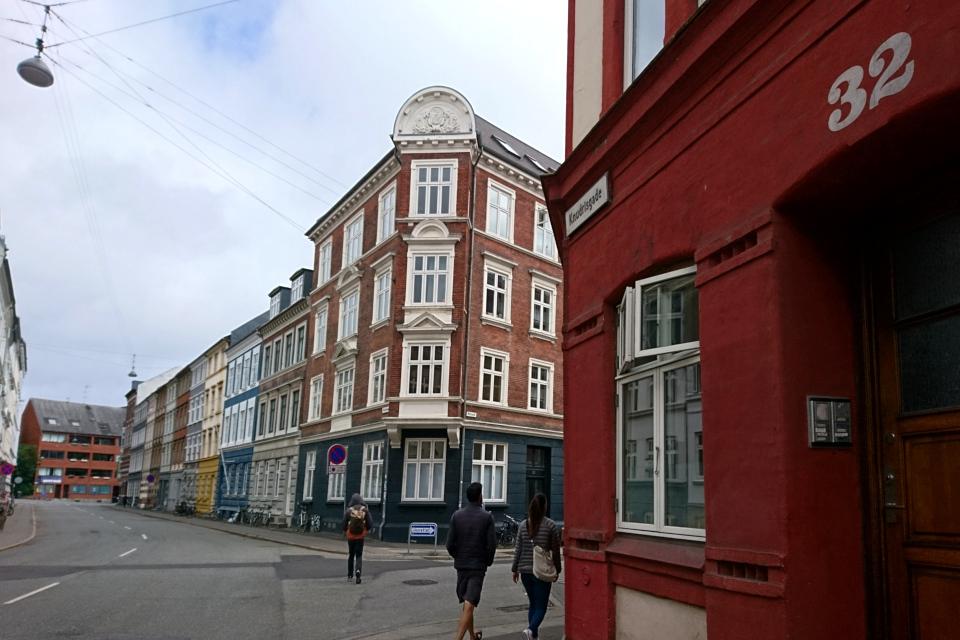 Угол между улицами Knudrigsgade и Molsgade, г. Орхус / Aarhus, Дания