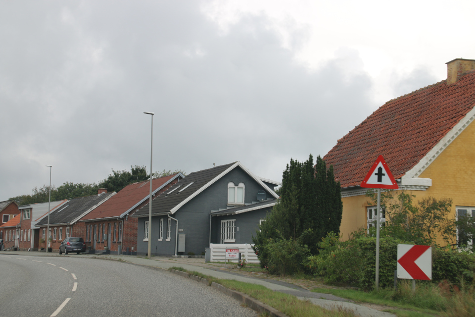 Дома на центральной улице Эриксборгвай (Eriksborgvej)