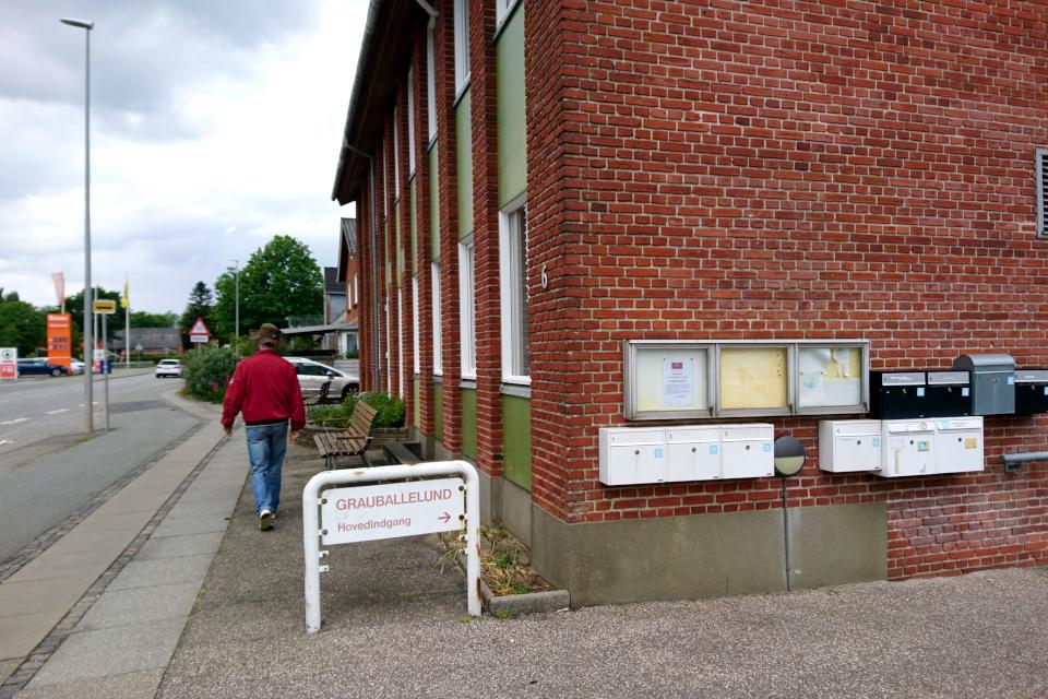 Жилой дом с квартирами для беженцев Grauballelund
