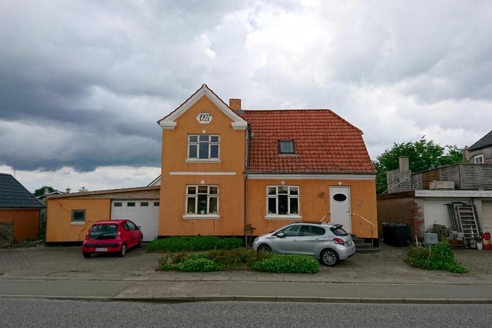 Дом, построенный в 1927 году. Граубалле / Grauballe, Дания