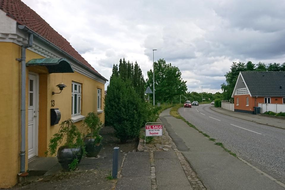 Дом выставлен на продажу (Til Salg). Граубалле / Grauballe, Дания