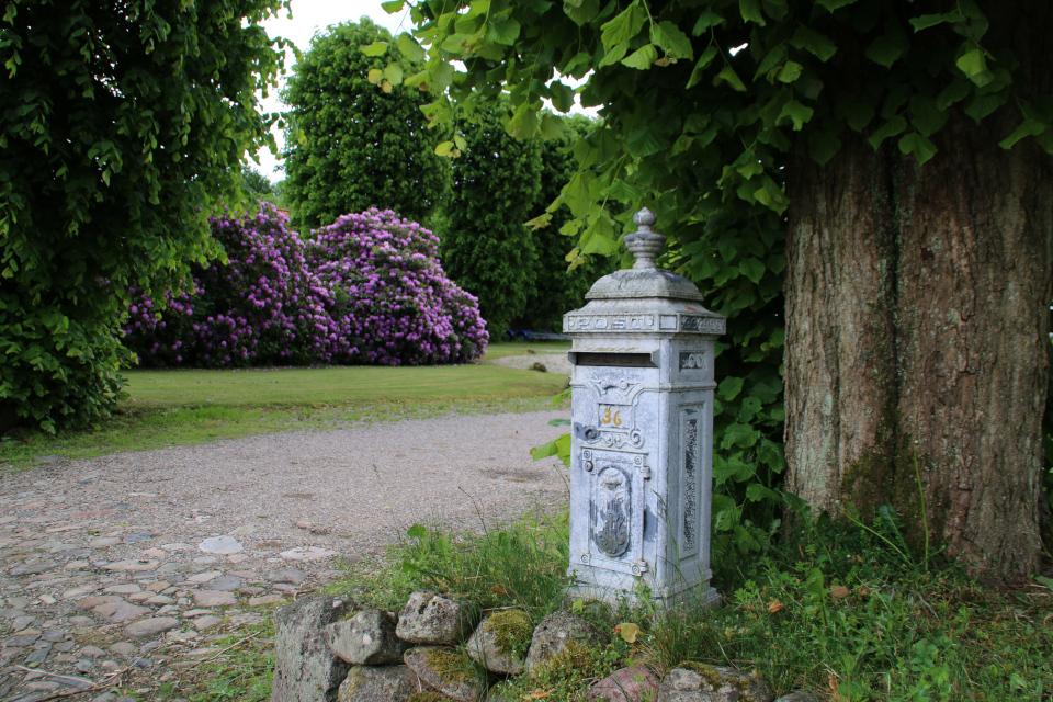 Старый почтовый ящик, поместье Граубалле (Grauballegård)