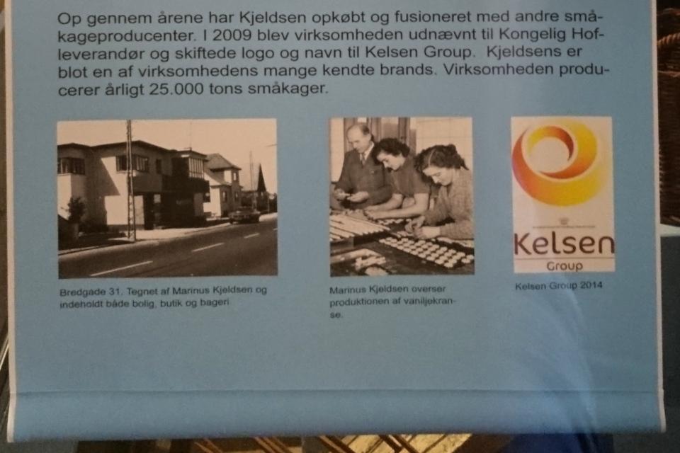 Фотография дома Анны и Маринуса Кйелдсен с пекарней