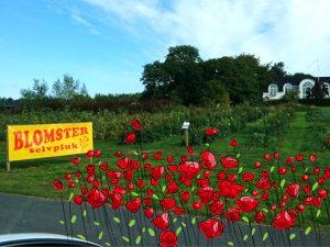 Цветочные магазины самообслуживания в Дании