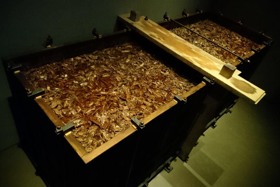 Дубовый ящик, в котором человек из Граубалле был окончательно мумифицирован