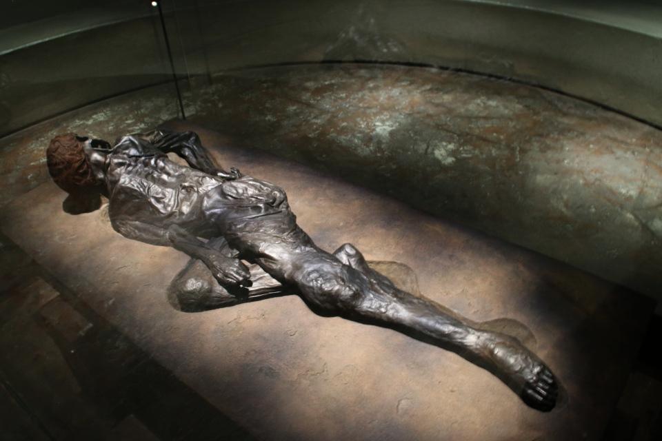 Человек из Граубалле в музее Мосгорд / Moesgaard museum