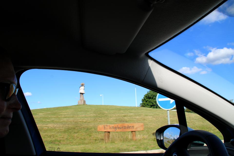 Деревянная скульптура женщины из Эллинг (дат. Ellingkvinden)