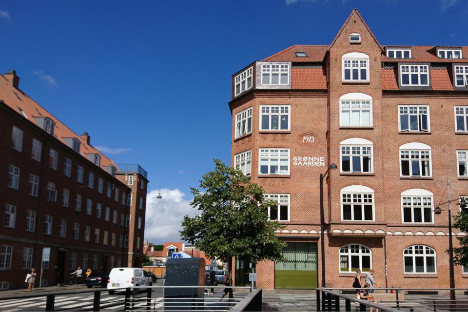 """Жилое здание под названием """"Зеленый двор"""" (дат. """"Grønne gaarden"""")"""