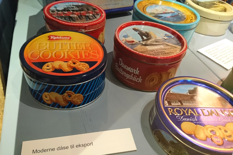 Жестяные коробочки для датского печенья