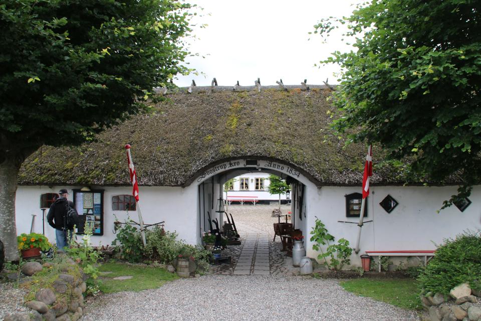 Старая гостиница Svostrup Kro. Фото 15 юл 2020, г. Силькеборг / Silkeborg, Дания