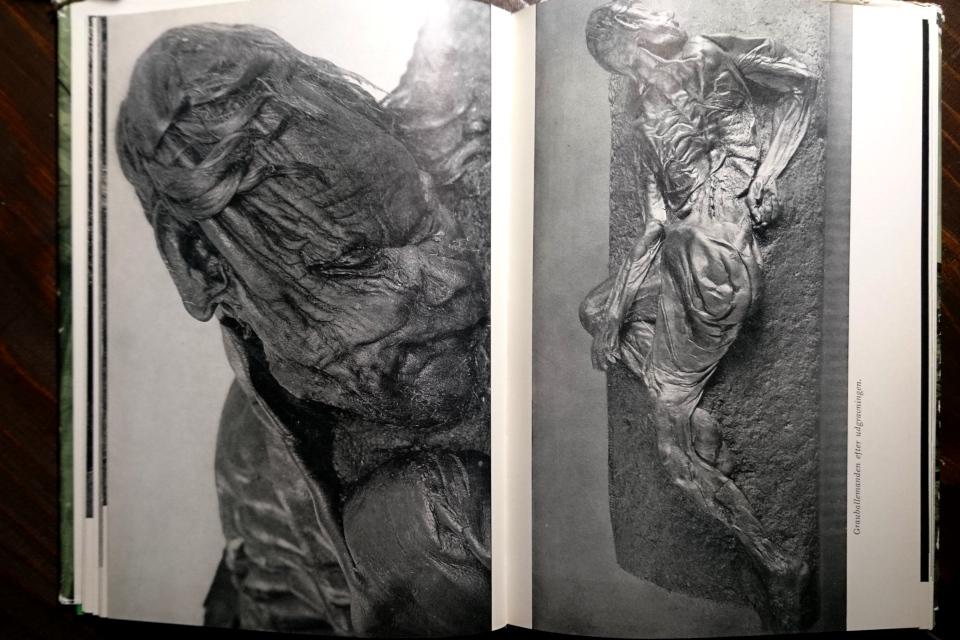 Так выглядело тело человека из Граубалле, раскопанное из торфа