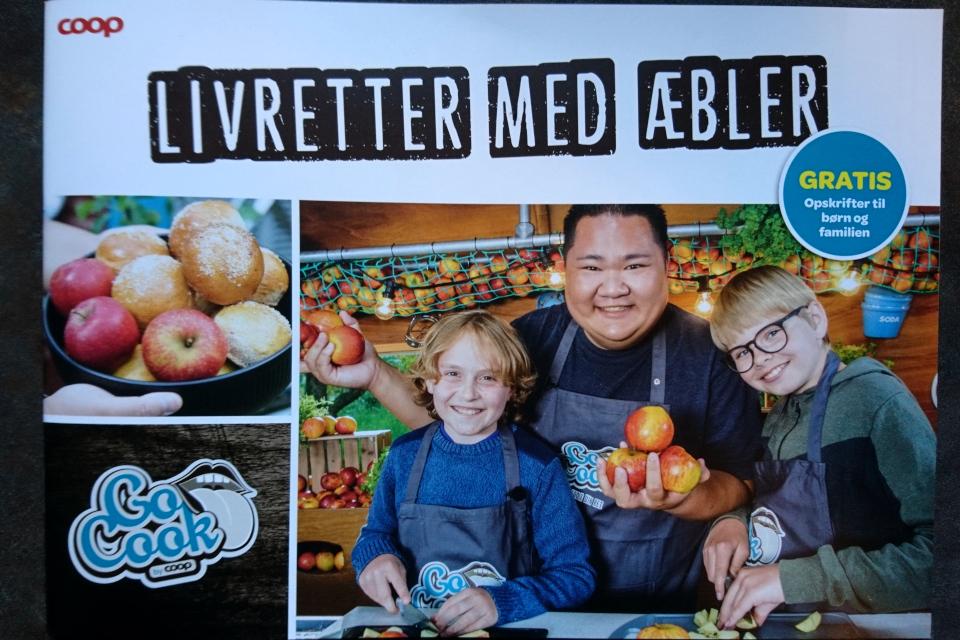 """""""Любимые блюда с яблоками"""" (""""Livretter med æbler"""")"""