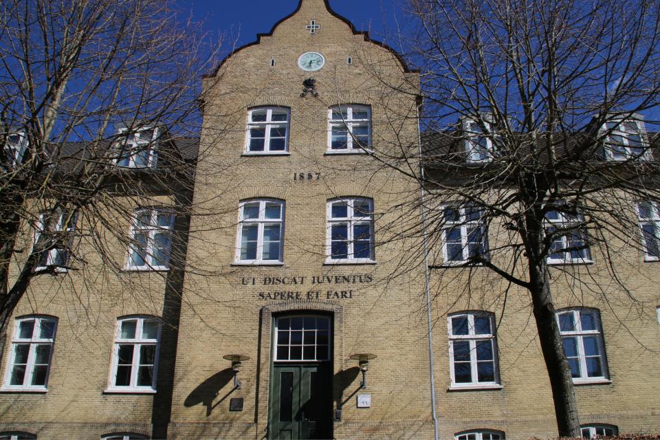 Здание 1857 года по адресу улица Камчатка 11, г. Хорсенс, Дания