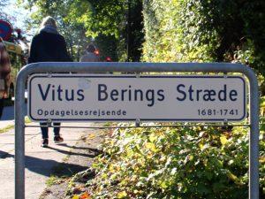 Витус Беринг в Дании