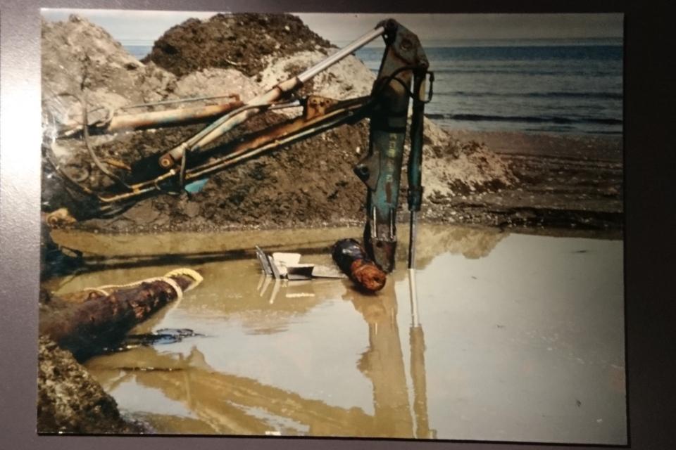 на острове Беринг во время советско-датской экспедиции в 1991 году