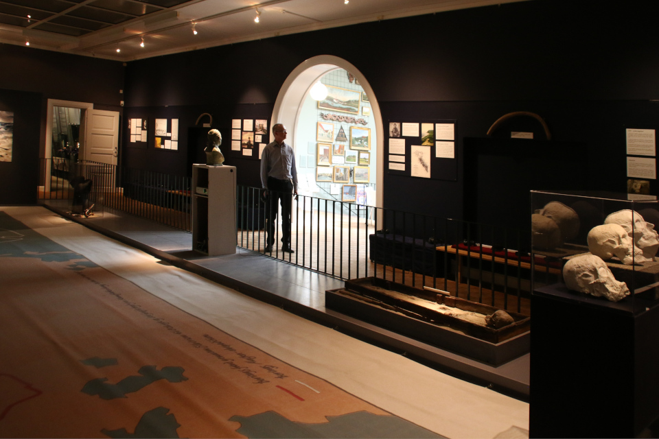 "Выставка ""Витус Беринг"". Фото 26 мар. 2019, музей г. Хорсенс, Дания"