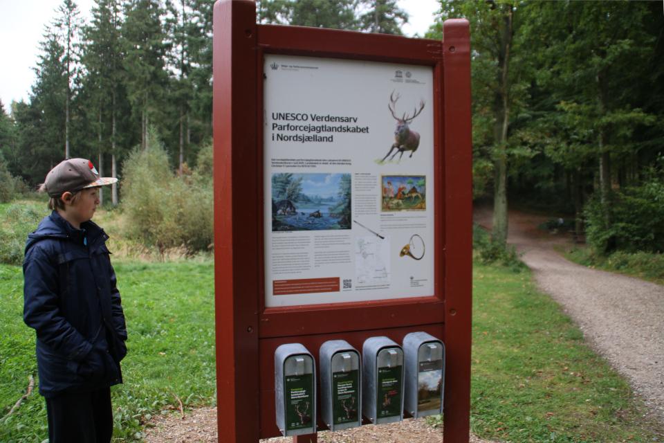 Информационный щит про Охотничьи угодья в Северной Зеландии