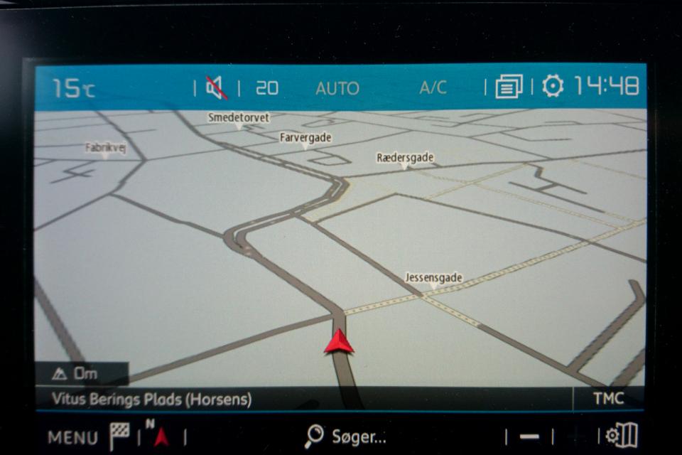 Карта GPS-навигатор возле площади Беринга (Vitus Berings Plads)